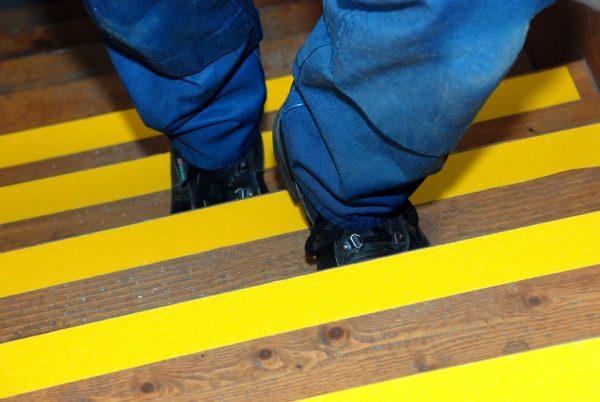 Yellow standard 50mm stairs C