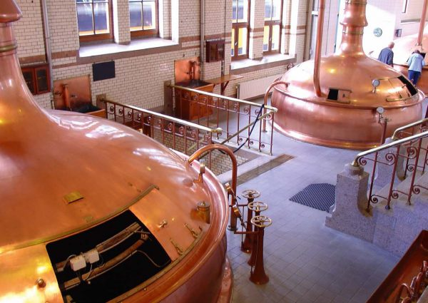 Copper brewery
