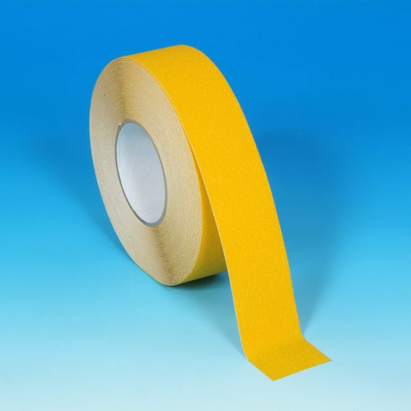 Antislip Tape Geel met gekorrelde deklaag