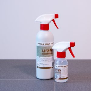TegelGrip Antislip Spray en Spoel