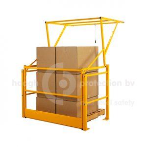 leverbaar in standaard breedtes, geschikt voor pallethoogte van 1.60 meter.
